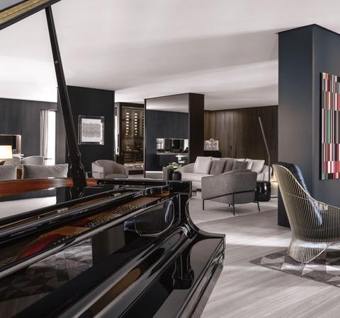 Apê de 812 m² tem ambientes com integração e decoração sóbria