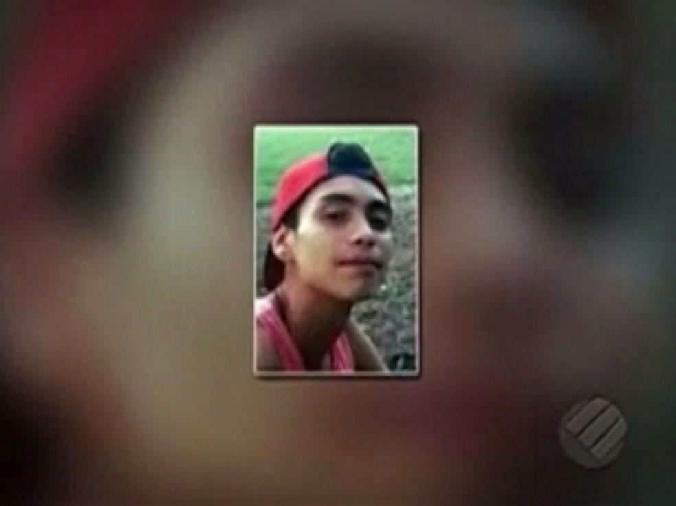 -  Pedro foi executadocom 4 tiros  Foto: Reprodução/Tv Liberal