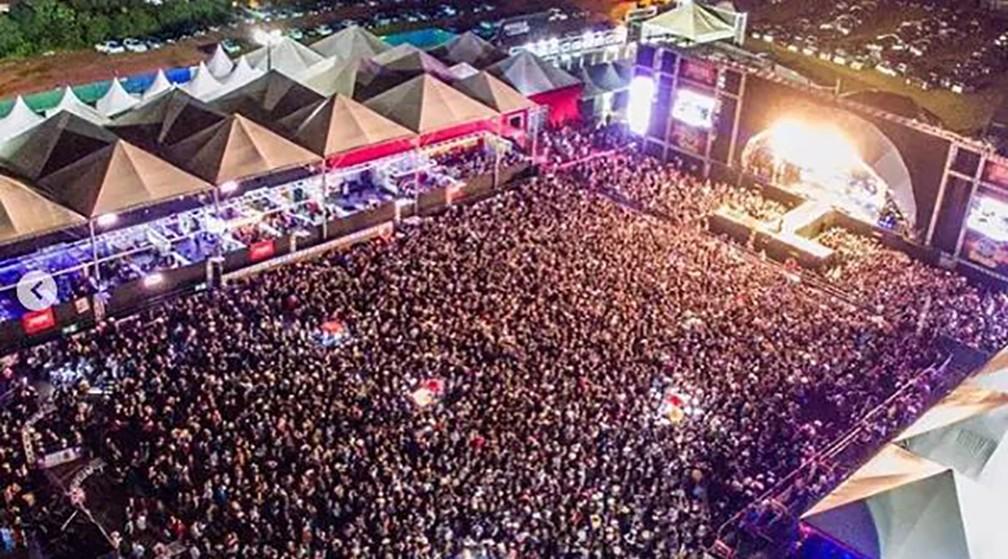 Lavras Rodeo Festival — Foto: Arquivo LRF