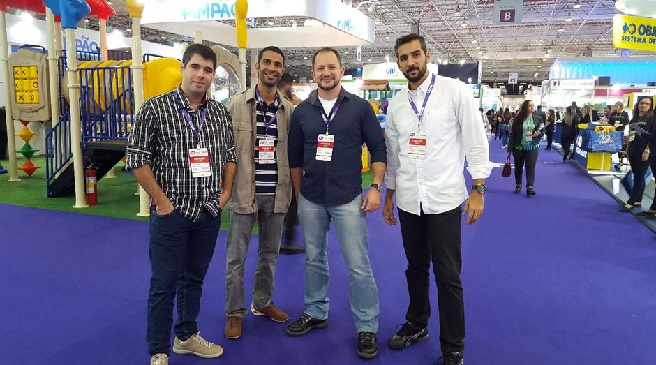 Fundadores da Ares, startup que está levando grandes companhias para a indústria 4.0 (Foto: Divulgação)
