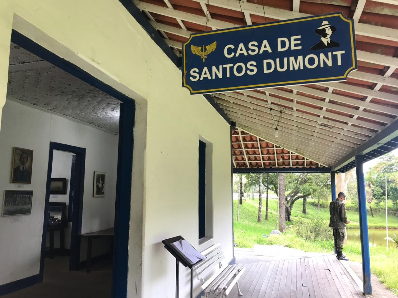 Casa sede do Museu de Cabangu é reaberta para visitação em Santos Dumont - Noticias