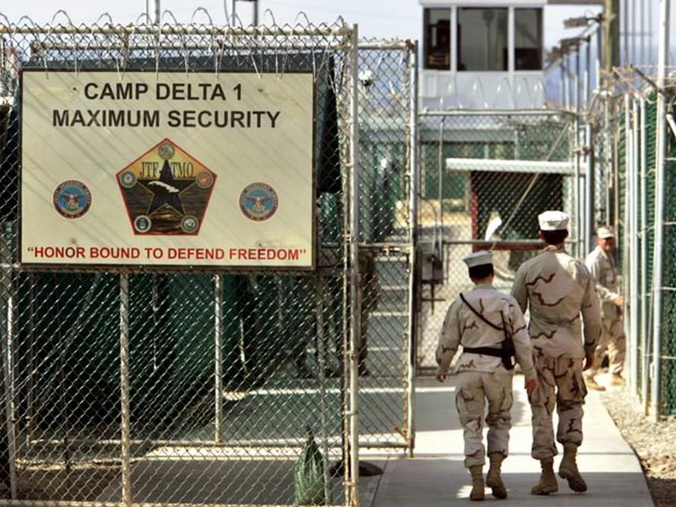 A prisão de Guantánamo, na ilha de Cuba, em foto de 2016 — Foto: AP