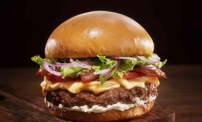Burger House, hambúrguer com cream cheese