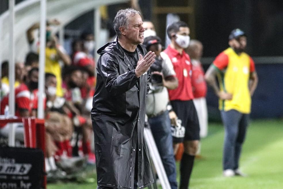 Paulo Bonamigo, técnico do Remo — Foto: Samara Miranda/Ascom Remo