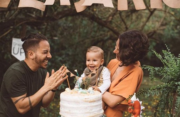 Junior e família (Foto: Reprodução/Instagram)
