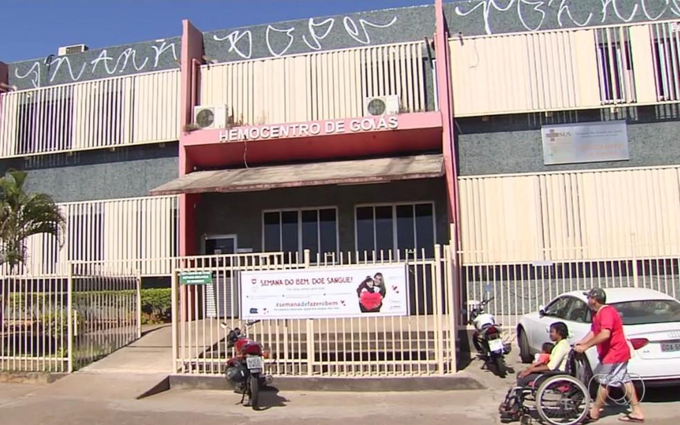 Igreja faz parceria com Hemocentro de Goiânia para aumentar doações — Foto: Reprodução/TV Anhanguera