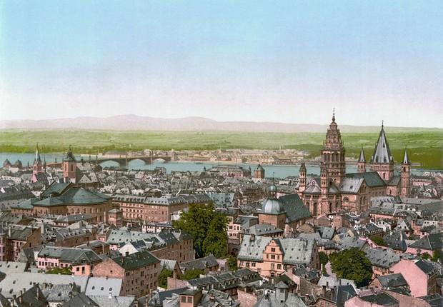 Mainz, Alemanha nos anos 1800 (Foto: Wikimedia Commons)