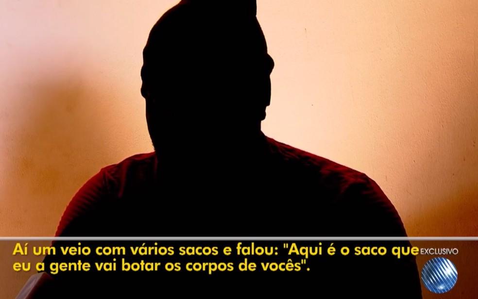 Motorista que sobreviveu a chacina em Salvador revela trauma e tortura em ação de criminosos — Foto: Reprodução/TV Bahia