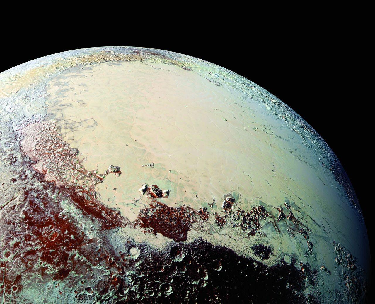 Plutão (Foto: NASA/JHUAPL/SwRI)