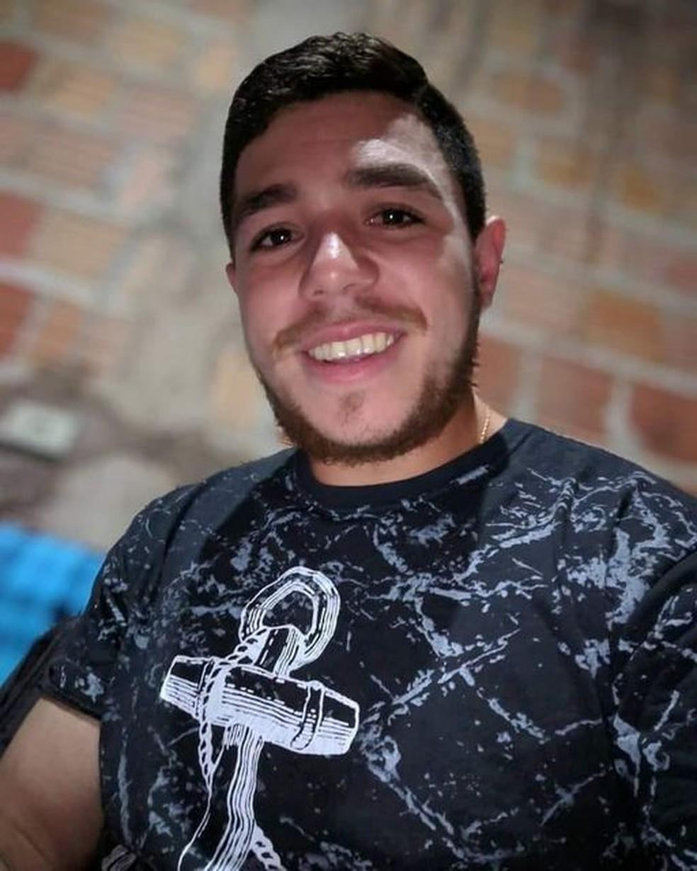 Lucas morreu após acidente, mas antes conseguiu falar com o irmão sobre o que havia acontecido — Foto: Redes Sociais