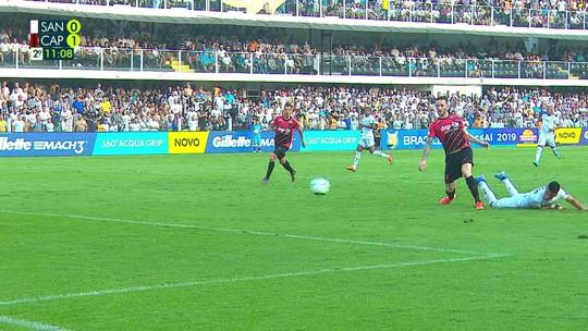 Veja os gols e melhores momentos de Santos 1 x 1 Athletico pela 18ª rodada da Série A
