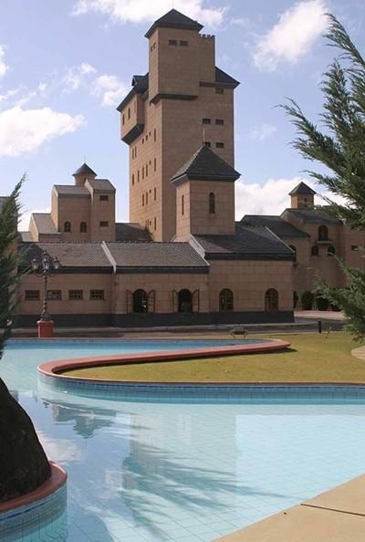 Veja fotos e vídeo do castelo que irá a leilão em São João Nepomuceno, MG
