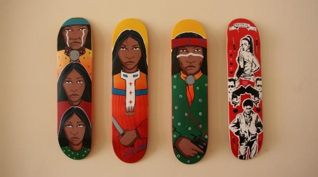 Cada skate custa entre R$ 192 e R$ 364 (Foto: Divulgação)