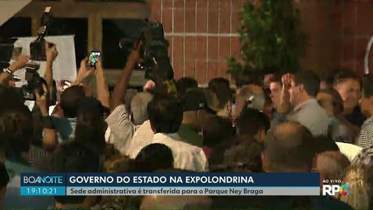 Sede administrativa do Governo do Paraná é transferida para Londrina