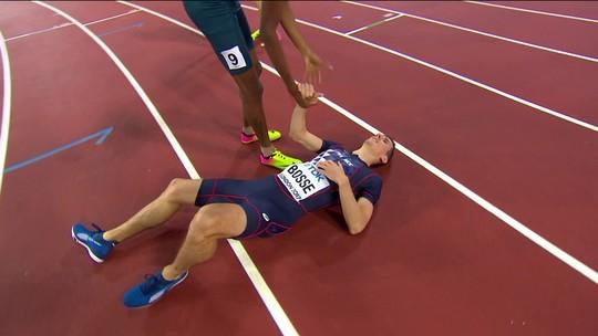 Sangue e suor: Thiago André tira lições da estreia com batalha na final dos 800m