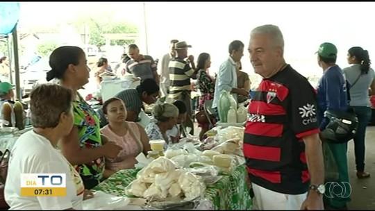 Vigilância Sanitária fiscaliza venda de leite in natura em feiras e comércios de Gurupi