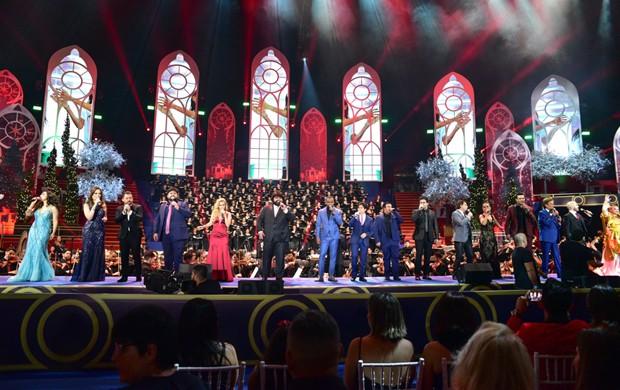 Concerto natalino do Instituto Neymar Jr. (Foto: Leo Franco/AgNews)