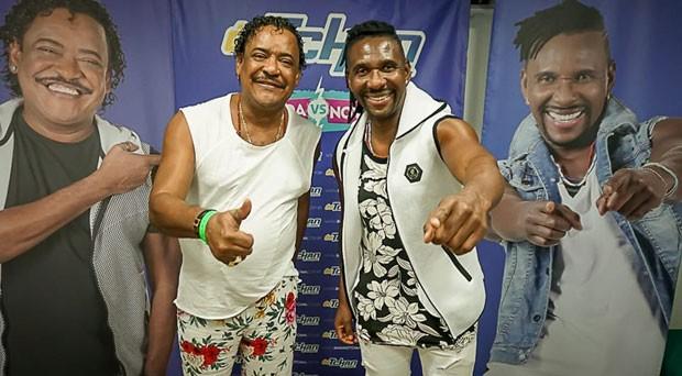 Show do É o Tchan no Fortal (Foto: Gilmar Souza/Divulgação)