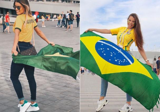 Mulheres dos jogadores da Seleção Brasileira (Foto: Reprodução/Instagram)