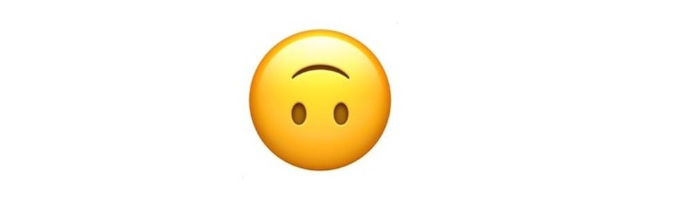 Emoji para quando você não quiser parecer tão sério — Foto: Reprodução/TechTudo