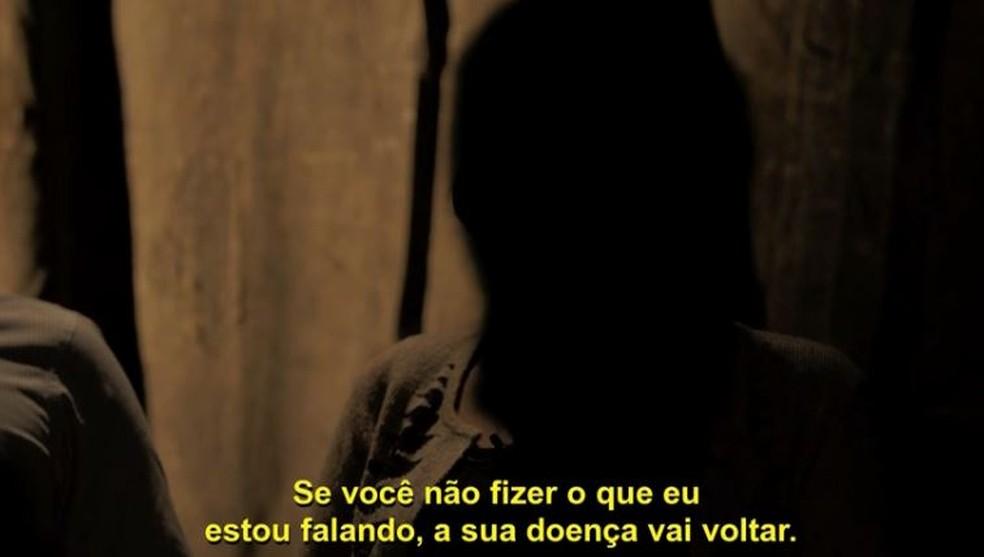Mulheres brasileiras ouvidas pelo programa 'Conversa com Bial' não quiseram se identificar — Foto: TV Globo