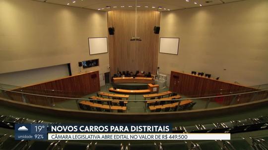 Câmara Legislativa lança pregão para compra de carros