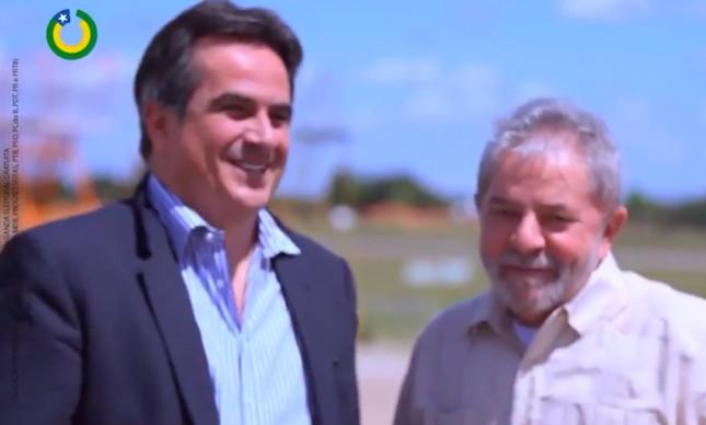 Ciro Nogueira em vídeo de 2018 com Lula