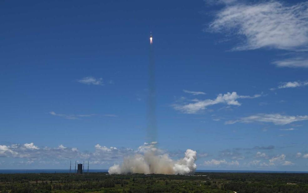 É a primeira missão da China até Marte — Foto: Noel Celis / AFP Photo