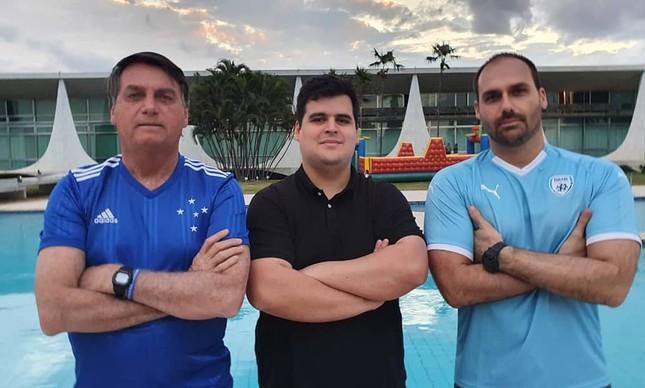Bruno Engler, candidato à prefeitura de BH que conta com conta com o apoio da família Bolsonaro