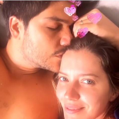 Pedro Curvello e Nathalia Dill  (Foto: Instagram)