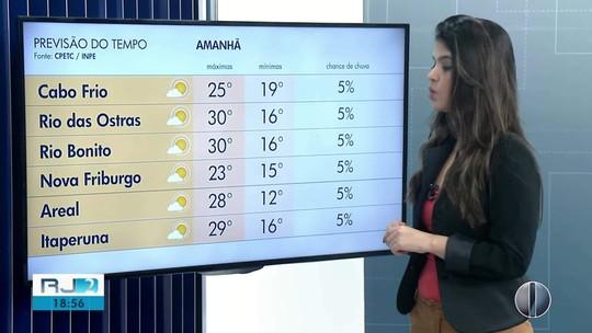 Confira a previsão do tempo para as regiões dos Lagos e Serrana do Rio