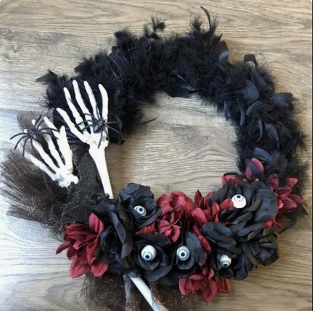 Halloween: Guirlanda (Foto: Pinterest/Reprodução)