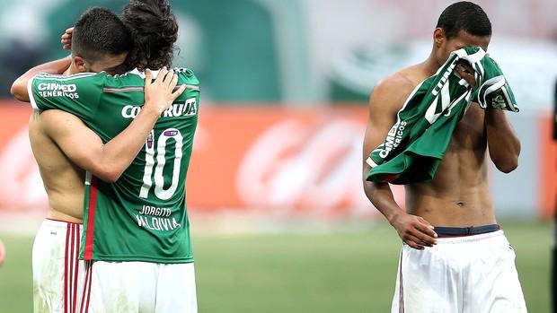 Palmeiras x Atlético-pr, Valdivia (Foto: Friedemann Vogel / Getty Images)