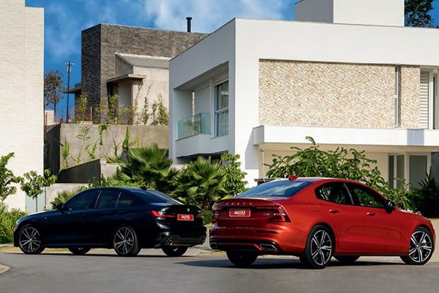 Comparativo Volvo S60 T8 x BMW 330i Sport (Foto: Chris Castanho)