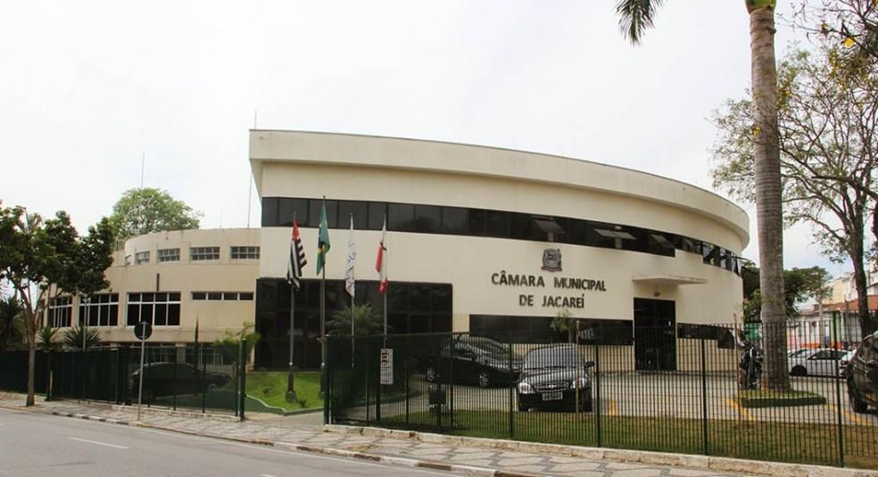 Dinheiro sumiu da conta corporativa da Câmara — Foto: Câmara de Jacareí/Divulgação