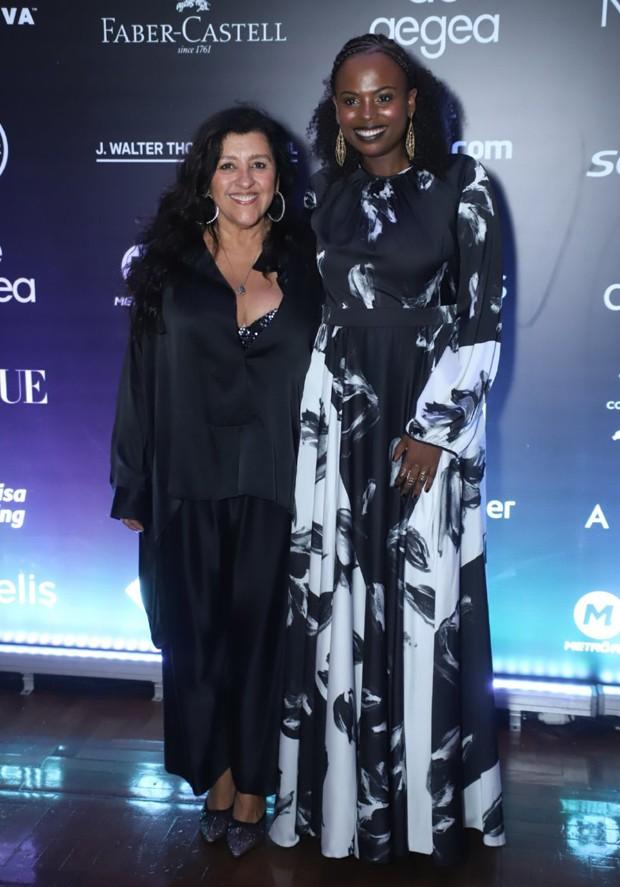 Regina Casé e Luana Génot (Foto: Daniel Pinheiro/AgNews)