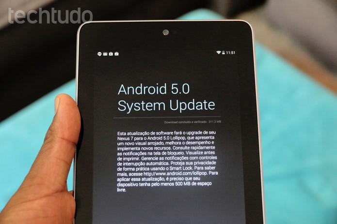Android 5.0 Lollipop (Foto: Anna Kellen Bull/TechTudo)