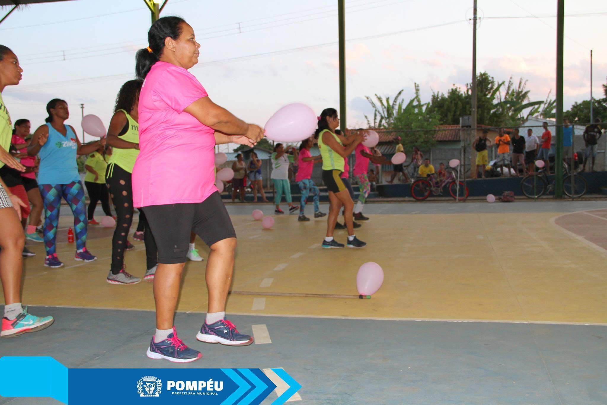 Programa 'Mexa-se Pompéu' abre mais um polo e proporciona atividades físicas aos moradores