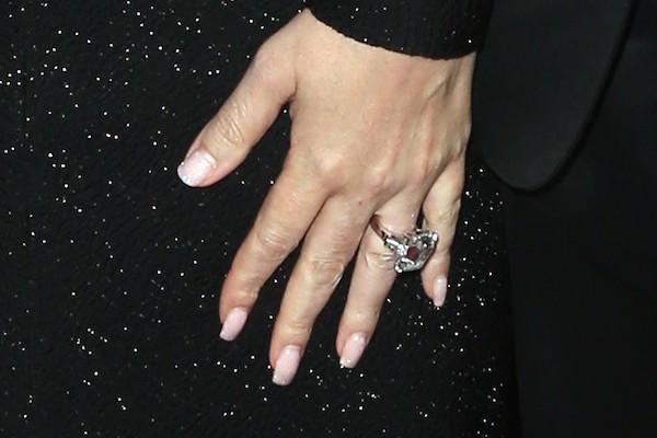 O anel de noivado dado a Mariah Carey por seu ex, o empresário James Packer (Foto: Getty Images)
