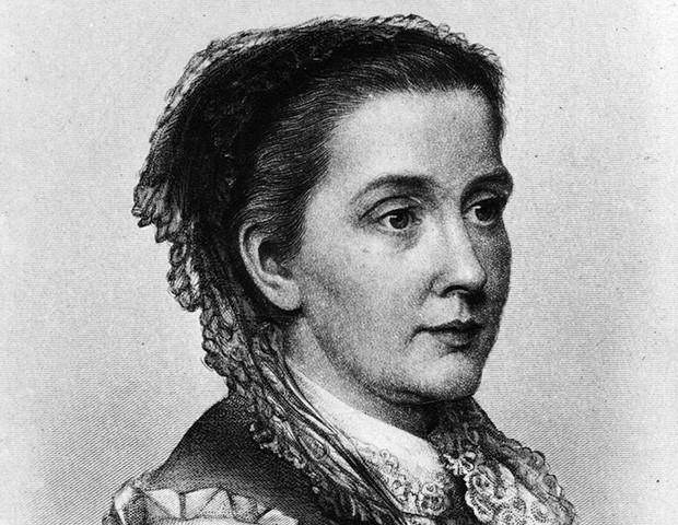 Retrato de Julia Ward (Foto: Hulton Archive / Getty Images)