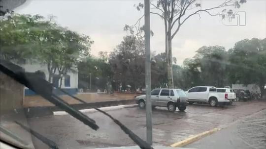 Chuvas são registradas em 3 cidades de MT nesta sexta-feira após meses de calor intenso e tempo seco