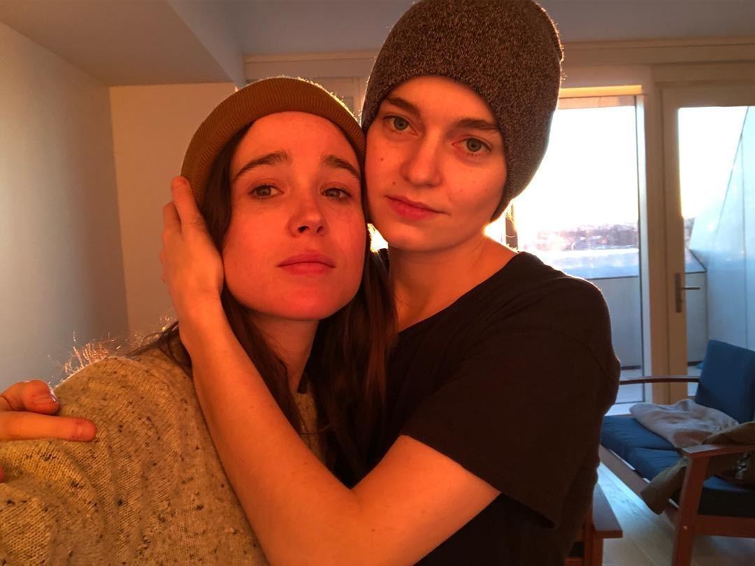 Elliot Page e Emma Portner (Foto: Reprodução Instagram)