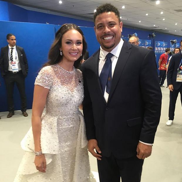 Aida Garifullina e Ronaldo (Foto: Reprodução/Instagram)