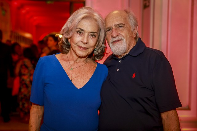 Betty Faria e Ary Fontoura (Foto: Paulo Belote/Globo)