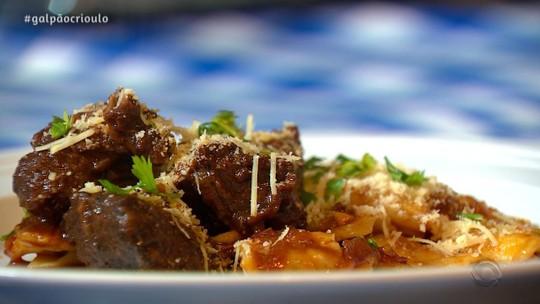 Ravioli com Carne de Panela