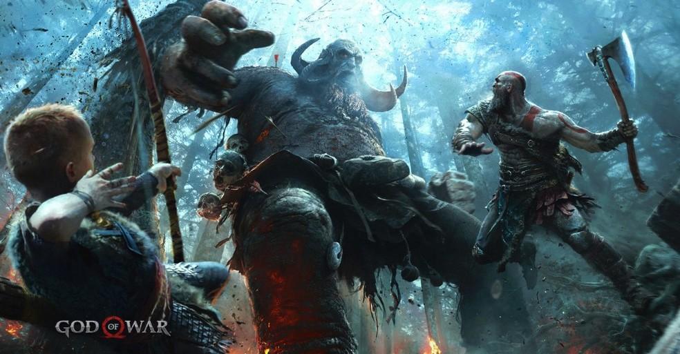 Trolls serão comuns em God of War (Foto: Reprodução/Felipe Vinha)