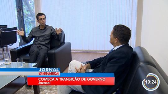 Atual gestão recebe prefeito eleito para transição de governo em Jacareí