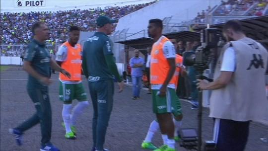 Ponte Preta atropela o Palmeiras na etapa inicial e abre boa vantagem nas semifinais do Paulistão