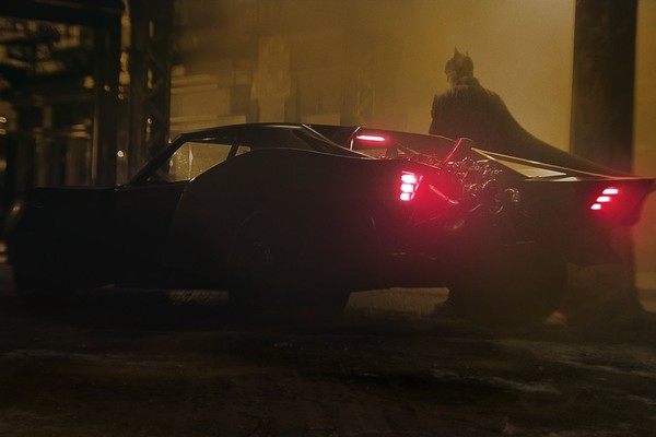 Carro que Robert Pattinson irá pilotar em The Batman (Foto: Twitter)