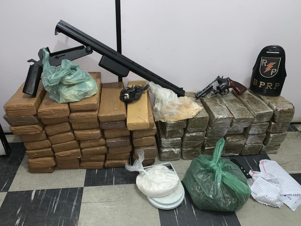 Homem é preso com mais de 60 kg de drogas em Maceió - Notícias - Plantão Diário